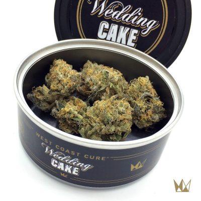 West Coast Cure Wedding Cake